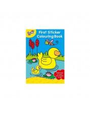 Prima mea carte de colorat Galt - Cu stickere  -1