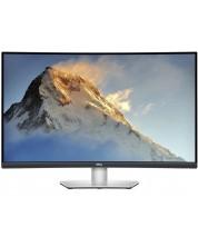"Monitor Dell - S3221QS, 32"", FreeSync, Curved, UHD, argintiu -1"