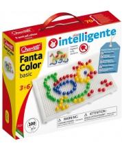 Mozaic de 100 piese Quercetti - Fantacolor Basic -1