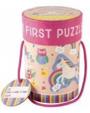 Primul meu puzzle Floss&Rock - Zana curcubeului