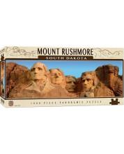 Puzzle panoramic Master Pieces de 1000 piese - Mount Rushmor, Dakota de Sud
