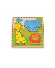 Primul meu puzzle Andreu toys - Jungla -1