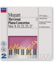 Mozart: The Great Piano Concertos Nos. 9, 15, 22, 25 & 27 (2 CD)
