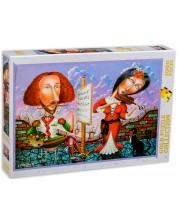 Puzzle Gold Puzzle de 1000 piese - Portret muzical