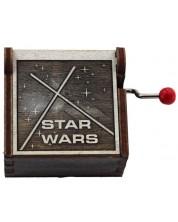 Cutiuta muzicala din lemn Musicbox - Star Wars