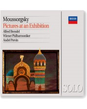 Andre Previn - Mussorgsky: Pictures At An Exhibition (Piano & Orchestral versions) (CD)