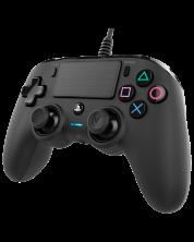Controller Nacon pentru PS4 - Wired compact, negru