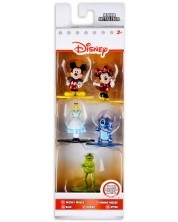 Set figurine Nano Metalfigs Disney - 5 bucati