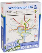 Puzzle New York Puzzle de 500 piese - Harta metroului Washington