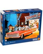 Puzzle New York Puzzle de 1000 piese - Dansuri in hambar