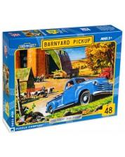 Puzzle New York Puzzle de 48 piese - Barnyard Pickup