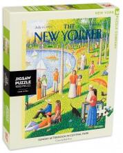Puzzle New York Puzzle de 1000 piese - O dupa-amiaza de duminica in Central Park