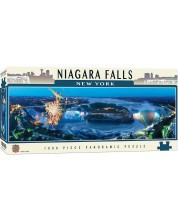 Puzzle panoramic Master Pieces de 1000 piese - Cascada Niagara, New York