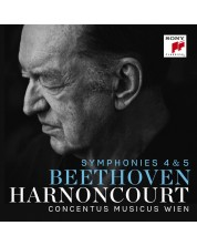 Nikolaus Harnoncourt - Beethoven: Symphonies Nos. 4 & 5 (CD)