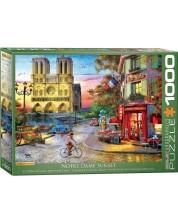 Puzzle Eurographics de 1000 piese - Dominic Davison Notre Dame -1