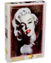 Puzzle Gold Puzzle de 1000 piese - Nostalgie, Marilyn Monroe