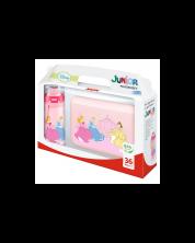 Set cutie pentru pranz si sticla pentru apa Nuk Junior Cup - Princess -1