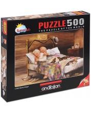 Puzzle Anatolian de 500 piese - Nu este loc mai frumos ca acasa, Diane Dengel