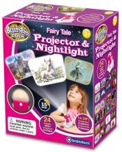 Jucarie educativa Brainstorm - Proiector si lampa de noapte, eroi de poveste