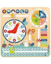 Jucarie educativa Tooky Toy - Calendar -1