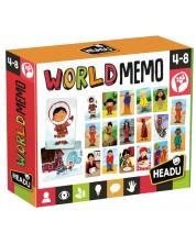 Carti flash educative Headu Montessori - World memo -1