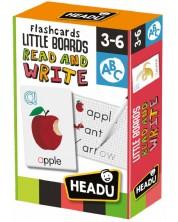 Carti flash educative Headu Montessori - Citeste si scrie -1