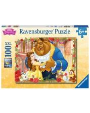 Puzzle Ravensburger de 100 XXL piese - Frumoasa si Bestia