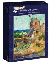 Puzzle Bluebird de 1000 piese - La Maison de La Crau (The Old Mill), 1888