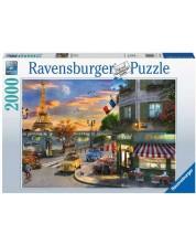 Puzzle Ravensburger de 2000 piese -Paris Sunset
