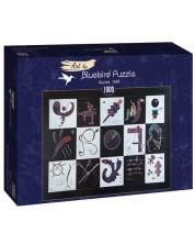 Puzzle Bluebird de 1000 piese - Quinze, 1959