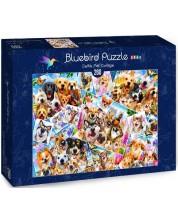 Puzzle Bluebird de 260 piese - Selfie Pet Collage