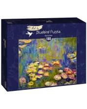 Puzzle Bluebird de 1000 piese - Nymphéas
