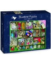 Puzzle Bluebird de 1000 piese -  Green Collection