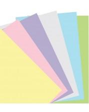 Rezerva pentru Notebook Filofax Pocket - Hartie pastelata