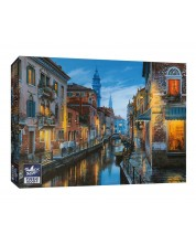 Puzzle Black Sea Puzzles de 1000 piese - Lonely Table Just for one, Eugene Lushpin