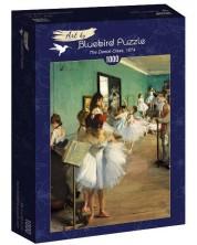 Puzzle Bluebird de 1000 piese - The Dance Class, 1874