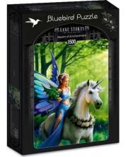 Puzzle Bluebird de 1500 piese - Realm of Enchantment