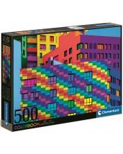 Puzzle Clementoni de 500 piese - Colour Boom Squares