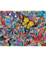 Puzzle Springbok de 500 piese - Butterfly Frenzy
