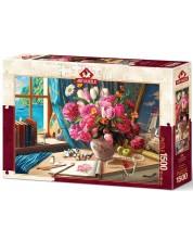 Puzzle Art Puzzle, 1500 piese - Cu parfum de flori