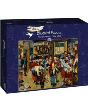 Puzzle  Bluebird de 1000 piese -The Tax-collector's Office, 1615