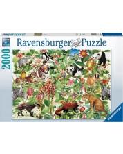Puzzle Ravensburger de 2000 piese - Jungle