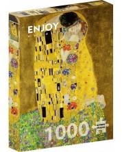 Puzzle Enjoy de 1000 piese - Gustav Klimt: The Kiss