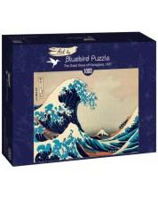 Puzzle Bluebird de 1000 piese - The Great Wave off Kanagawa, 1831