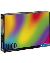 Puzzle Clementoni de 2000 piese - Gradient