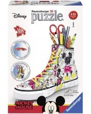 Puzzle 3D Ravensburger de 108 piese - Pantof, Mickey Mouse