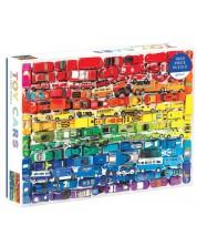 Puzzle Galison de 1000 piese - Rainbow Toy Cars