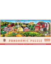 Puzzle panoramic Master Pieces de 1000 piese - Apple Annie's Carnival Pano