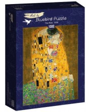Puzzle Bluebird de 1000 piese - The Kiss, 1908