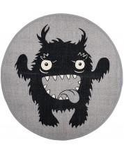Covoras din bumbac Bloomingville - Monstru, gri -1